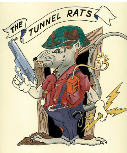 Elite Tunnel Rat Insignia -- Riley St. James