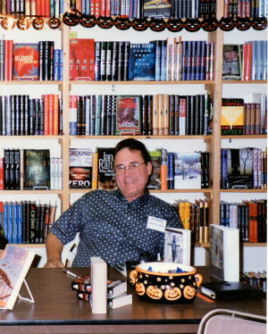 Riley St. James signing in Pasadena Mystery bookstore